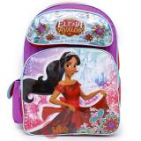 "Disney Elena Avalor Large School Backpack 16"" Grils Bag"