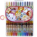 Disney Tsum Tsum 12pc Twist Up Coloring Pencil Set