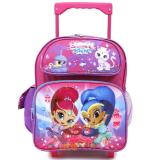 "Shimmer and Shine Toddler School  Backpack 12"" Small Roller Bag"