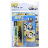 Despicable Me School Stationary Set Minions 11pc Value Pack
