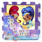 Shimmer And Shine Soft Foam Hopscotch Play Mat (8pc 12x12)