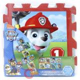 Paw Patrol Soft Foam Hopscotch Play Mat (8pc 12x12)