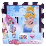 Disney Princess Soft Foam Hopscotch Play Mat (8pc 12x12)