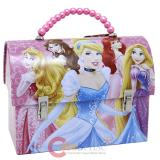 Diseny Princess Tin Lunch Box Metal Jewelry Hand Bag