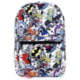 DC Comics All Over Prints School Backpack - Comic Book