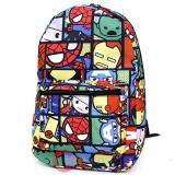 Marvel Kawaii Heroes  All Over Prints School Backpack - Comic Book Panel
