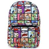 Super Mario Panel All Over Prints School Backpack