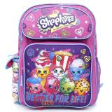"Shopkins Large School Backpack 16"" Girls Book Bag - Besties For Life"