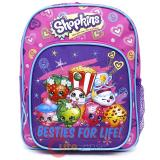 Shopkins Small School Backpack 10in Toddler Bag - Besties For Life