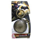 Batman V Supderman Wonder Woman Shield Metal Key Chain Pewter 3D