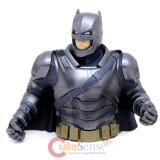 Batman V Superman Bust Figure Coin Bank -Armored Batman