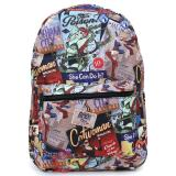 DC Comics DC Women Heroes All Over Prints School Backpack - Boomshell Art