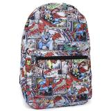 Marvel Heroes  All Over Prints School Backpack - Comic Stack