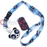 Suicide Squad Lanyard Key Chain Panda Man