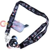 Suicide Squad Harley Quinn Lanyard Key Chain