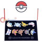 Pokemon Eevee Badges 9pc Pin Set