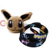 Pokemon Lanyard with Eevee Face Plush