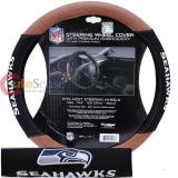 NFL Seattle Seahawks Steering Wheel Cover Football Grip