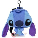 Disney Lilo and Stitch Plush Passport Shoulder Bag Body Cross Purse
