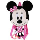 Disney Minnie Mouse Flat Plush Doll Backpack -20in Pink