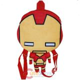 Marvel Iron Man Flat Plush Doll Backpack -16in