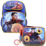"Marvel Doctor Strange 16"" Large School  Backpack Lunch Bag 2pc Set"