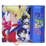Sailormoon Bi Fold Wallet Leather Anime Wallet