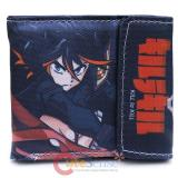 KILL la KILL Bi Fold Wallet Canvas Anime Wallet
