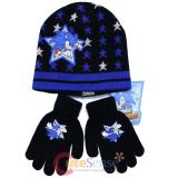 Sonic The Hedgehog Kids Knitted Beanie and Gloves Set -Sonic Boom