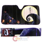 Nightmare Before Christmas Jack Front Window Sun Shade/Windshield - Movie