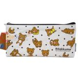 San X Rilakkuma Canvas Pencil Case Bag Pouch
