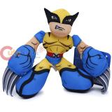 Marvel Super Hero Playskool Wolverine Plush Doll
