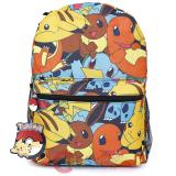 Pokemon Multi Characters Large School Backpack