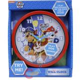 Paw Patrol Wall Clock 8in Round Watch