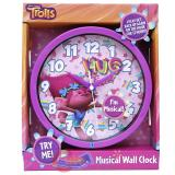 Dreamworks Trolls Wall Clock 8in Round Watch