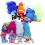 Dreamworks Trolls Plush Doll 8pc Collection Set