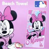 MLB Los Angeles Dodgers Minnie Mouse  Beach, Bath Towel
