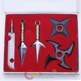 Naruto Sword Weapon 5pc Set