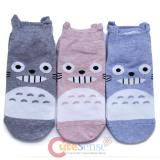 My Neighbor Totoro Ankle Socks Set - 3 Pair