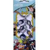 Naruto 5 Charm Key Chain