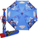DC Comics Superman Kids Retractable Umbrella Wet Color Change