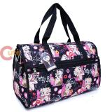 Betty Boop Duffle Travel Bag  Diaper Gym Bag - Lovely Kiss