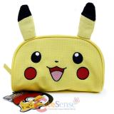 Pokemon Pikachu Cosmetic Pouch Bag Pencil Case with Plush Ear