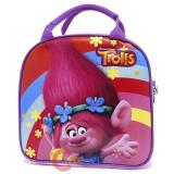 Dreamworks Trolls Poppy School Lunch Bag Insulated  Snack Bag with Bottle