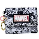 Marvel Comics Mini Trifold Wallet with Key Chain Holder