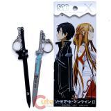 Sword Art Online Sword Key Chain Lovers 2pc