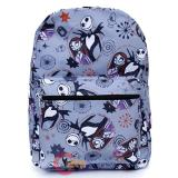 Nightmare Before Christmas AOP Large School Backpack Jack Sally