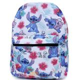 Lilo and Stitch AOP Large School Backpack White Aloha