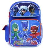"PJ Masks Large School Backpack 16"" Boys Book Bag"