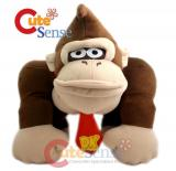 Super Mario Bro Donkey Kong 12in Plush Doll